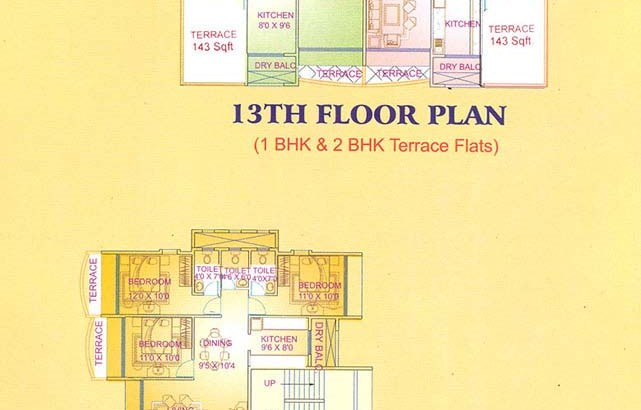 Suyash Heights Floor Plan I
