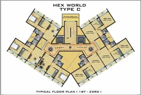 Hexworld Floor Plan II