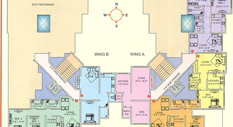 Star Avenue Floor Plan I