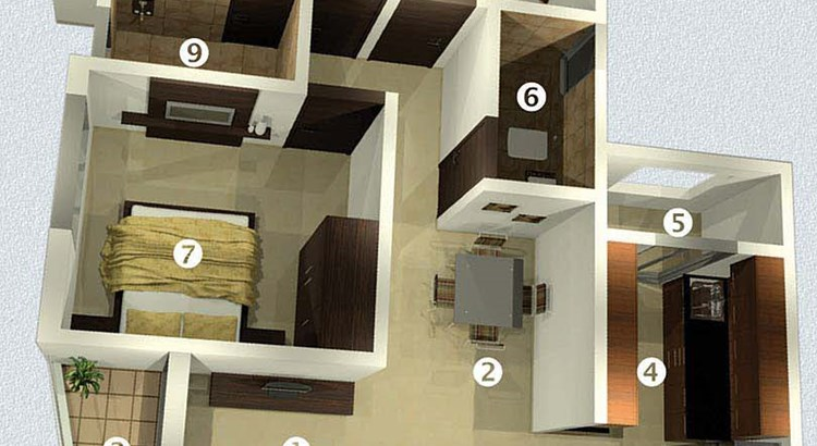 Raj Horizon Floor Plan 3