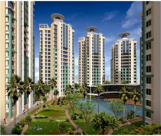 2 BHK apartment for Sale in Highland Park, Thane West