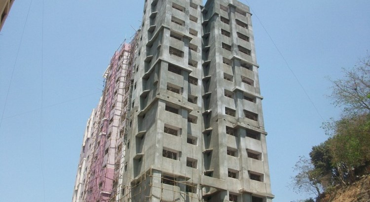 Trikuta Tower Phase II 4th April 2010