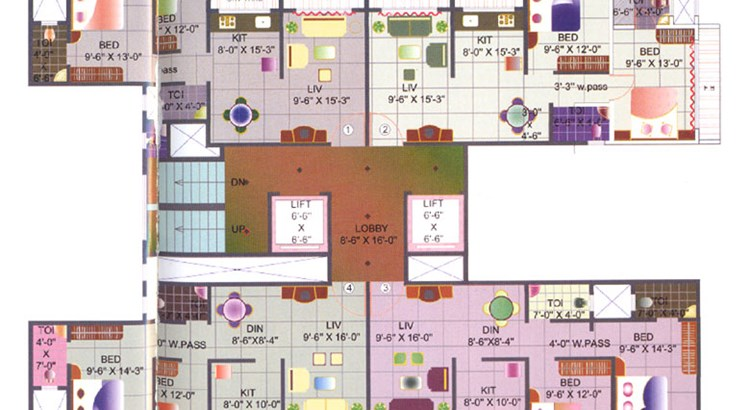 Hiral Splendour Floor Plan I