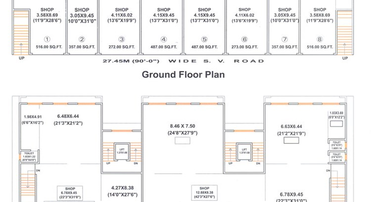 Samadhan Commercial Floor Plan