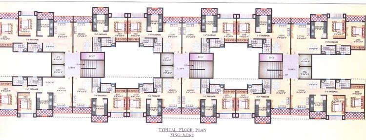 Hiral Greens Floor Plan I