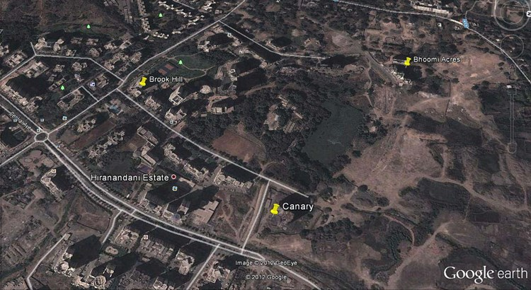 Bhoomi Acres Google Earth