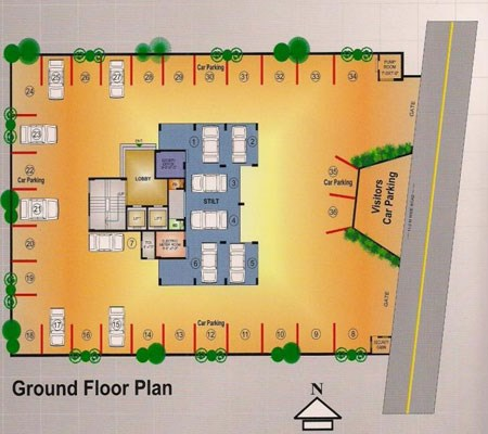 Innovative Heights Floor Plan I
