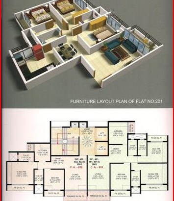 Tulip Floor Plan I