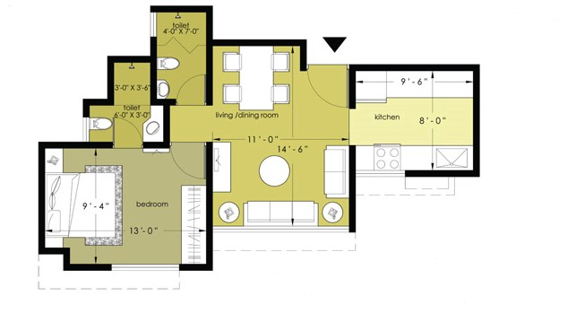 Everest Countryside Petunia Dafodil Marigold Floor Plan I