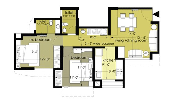 Everest Countryside Jasmine Floor Plan I