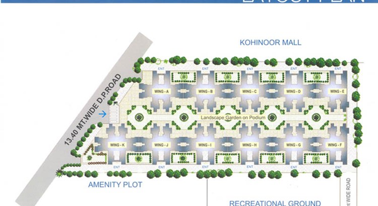 Premier Residency Floor Plan 1