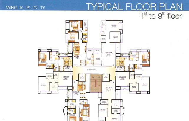 Premier Residency Floor Plan 2