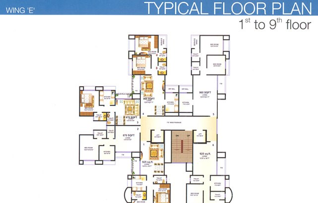 Premier Residency Floor Plan 3
