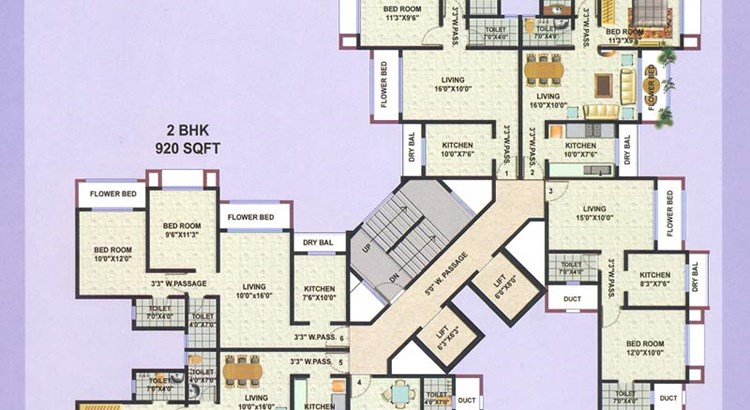 Galaxy Apartment Wing C 1st to 7th and 9th to 14 th