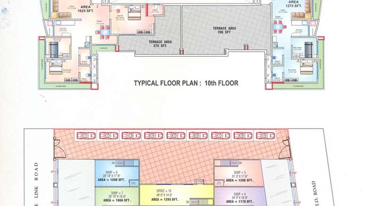 Savgan Heights Floor Plan