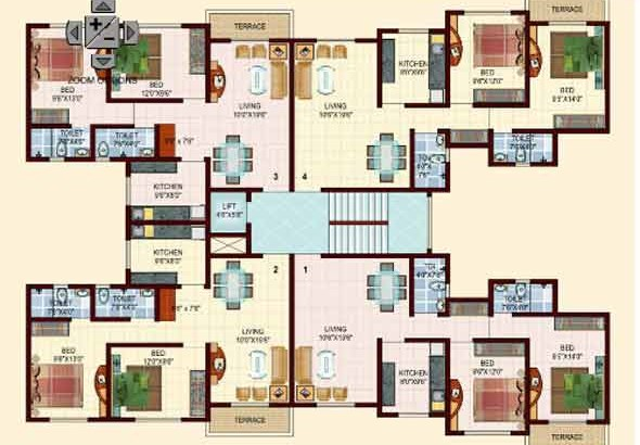 Kingston Tower Floor Plan I
