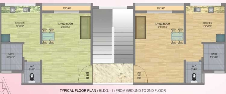 Fortune Gardens Floor Plan III