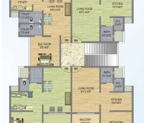 Fortune Gardens Floor Plan IV