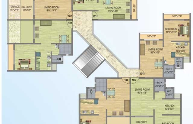 Fortune Gardens Floor Plan V