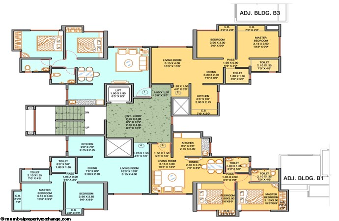 Unnathi Green Floor Plan I