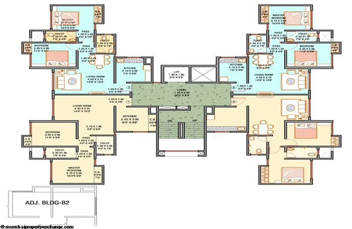 Unnathi Green Floor Plan  II