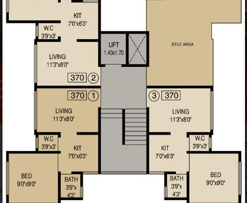 Mathura Ground Floor Plan