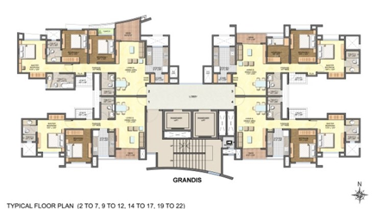 Lodha Aurum Floor Plan I