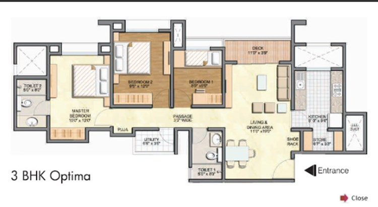 Lodha Aurum Floor Plan III