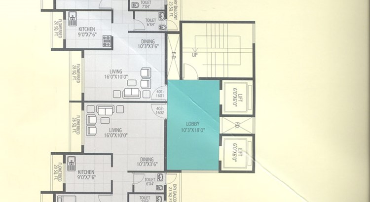 Krishna Heights Floor Plan V