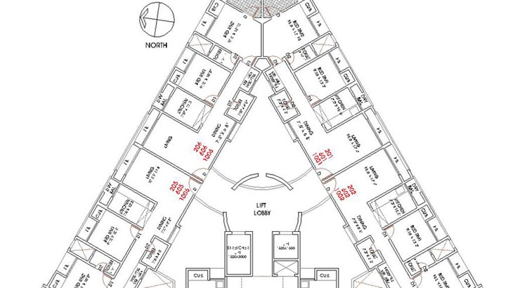 Anmol Planet Floor Plan III