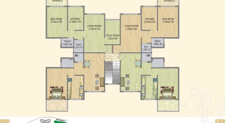 Fortune Green Heaven Floor Plan II
