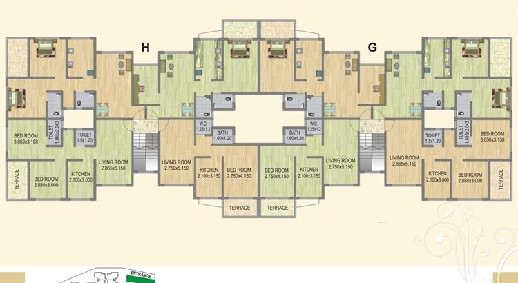 Fortune Green Heaven Floor Plan VII
