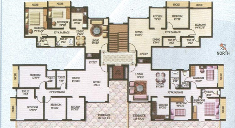Sky Heights Floor Plan I