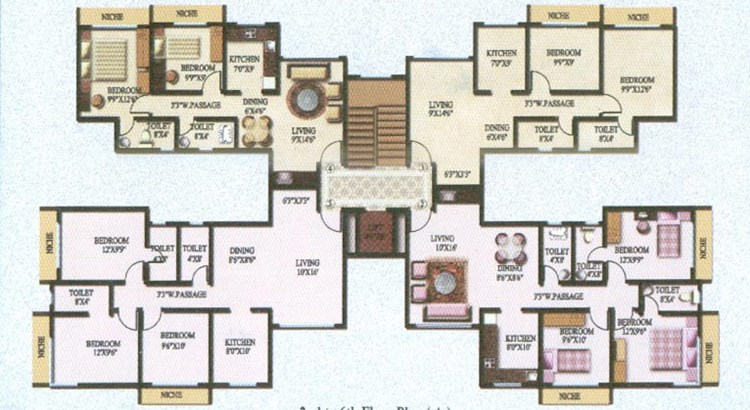 Sky Heights Floor Plan II