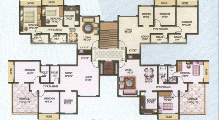 Sky Heights Floor Plan III