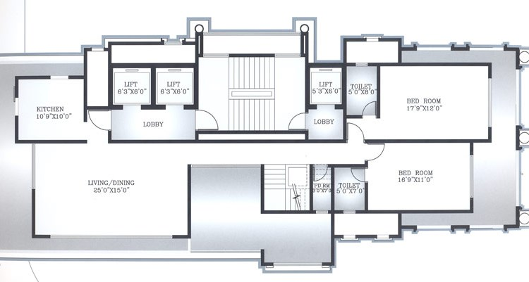 Zahra Court 7th Floor Plan