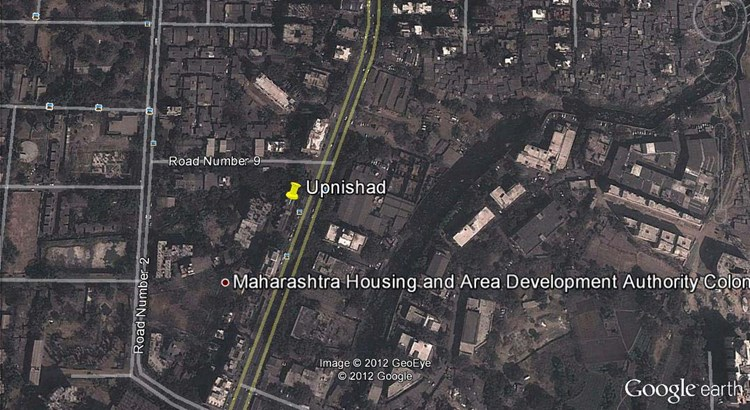 Upnishad Google Earth