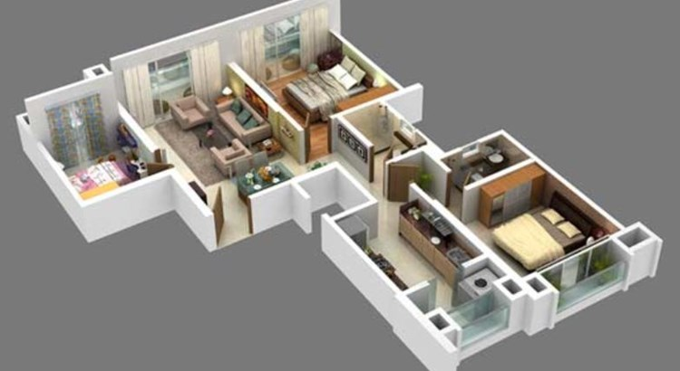 Hubtown Shikhar Floor Plan