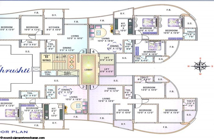 Shiv Shrushti Floor Plan II