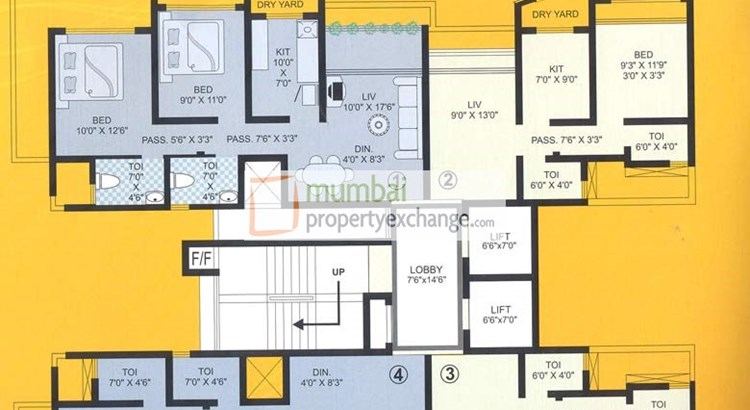 Raj Hill Floor Plan II