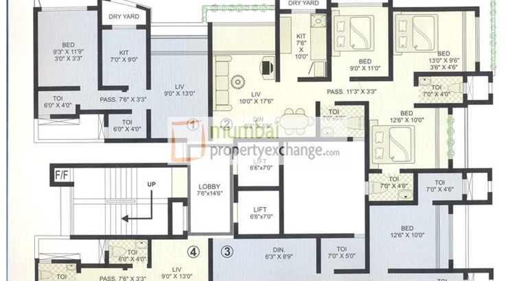 Raj Hill Floor Plan III