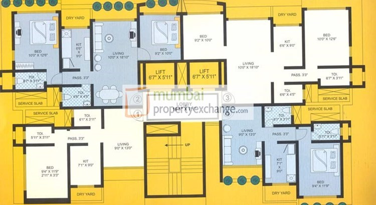 Raj Hill Floor Plan IV