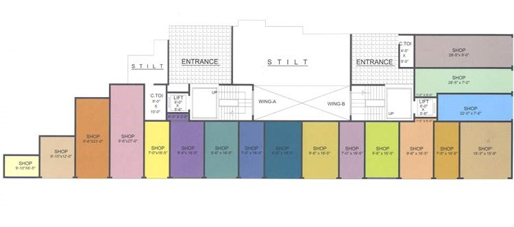 Saraswati Floor Plan I