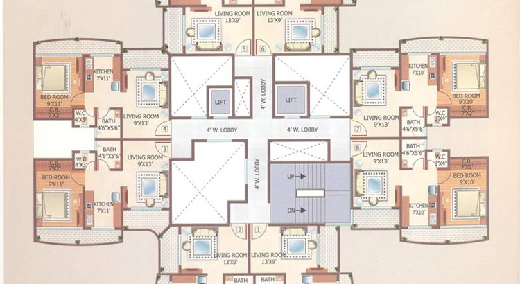 Shubhashish Floor Plan I