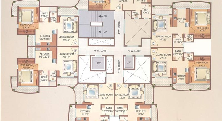 Shubhashish Floor Plan II