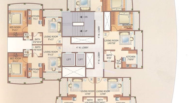 Shubhashish Floor Plan III