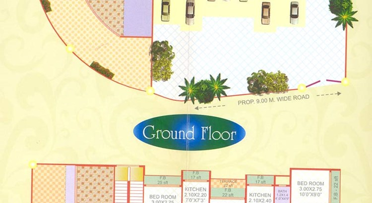 Kamthi Plaza Floor Plan II