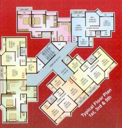 Shree Residency Floor Plan 1