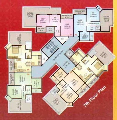 Shree Residency Floor Plan 2