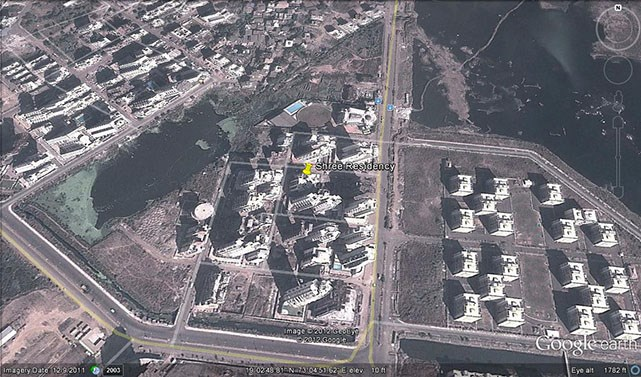 Shree Residency Google Earth